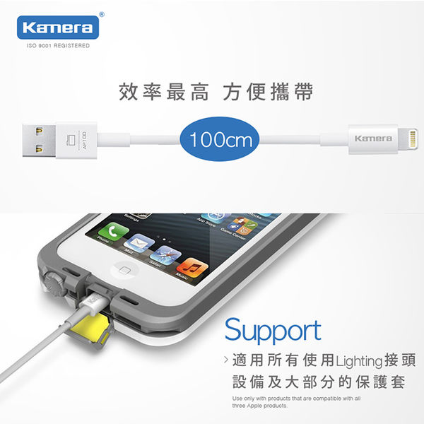 放肆購《三入下殺》MFI 蘋果原廠認證 2.4A AP100 充電傳輸線 iPhone7 iPhone6 plus i7 i7+ i6 i6+ 6s SE iPhone5 i5