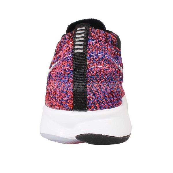 【US6.5-NG出清】Nike 訓練鞋 Wmns Flyknit Zoom Agility 紫 紅 慢跑鞋 女鞋 零碼福利品【ACS】
