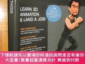二手書博民逛書店ANIMATION罕見METHODS :Becoming a 3D Character Animator (大16