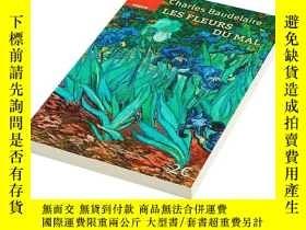 二手書博民逛書店波德萊爾罕見惡之花(法文版)法文原版 Les fleurs du