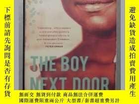 二手書博民逛書店英文原版罕見The Boy Next Door by IRENE