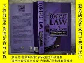 二手書博民逛書店CONTRACT罕見LAW IN HONG KONG .Y203