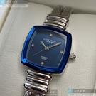 ANNE KLEIN安妮克萊恩女錶22mm寶藍色錶面銀色錶帶