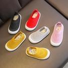 童鞋男童春款兒童家居鞋透氣軟底女童一腳蹬寶寶布鞋幼兒園室內鞋 滿天星