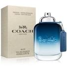 COACH 時尚藍調男性淡香水 100ml-Tester包裝