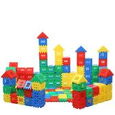 房子積木拼裝玩具益智1-2-3歲益智拼裝雪花片