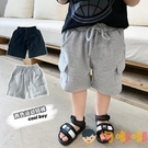 男童短褲兒童褲子夏外穿寶寶小童純棉運動五分褲薄款【淘嘟嘟】