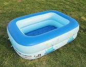 嬰兒充氣游泳池家用兒童加厚超大號戲水池成人家庭寶寶保溫洗澡桶igo『韓女王』