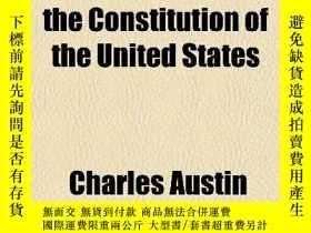 二手書博民逛書店An罕見Economic Interpretation Of The Constitution Of The Un