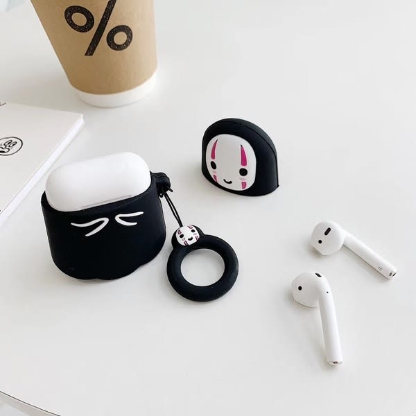 【SZ14】airpods2保護套 卡通千尋無臉男藍牙耳機套 airpods1保護套 AirPods藍牙耳機套 手機殼