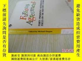 二手書博民逛書店英文原版罕見Furious AgreementY7215 Inst. Management Aust Peng