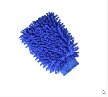 汽車洗車手套雙面毛絨擦車手套BS14446『時尚玩家』