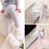 韓版兒童中筒襪春夏薄款女童棉純長筒襪寶寶堆堆襪中大童過膝襪子 漾美眉韓衣