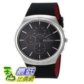 [104美國直購] Skagen 男士手錶 SKW6133 Jannik Quartz Chronograph Stainless Steel Black Watch $5047