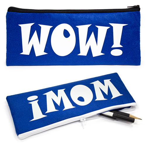 [客製化]毛氈布鉛筆袋 ( 網版熱轉印) A90-51100-067