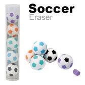 【允拓】高潔淨造型橡皮擦 足球5入裝