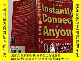 二手書博民逛書店How罕見to Instantly Connect with A