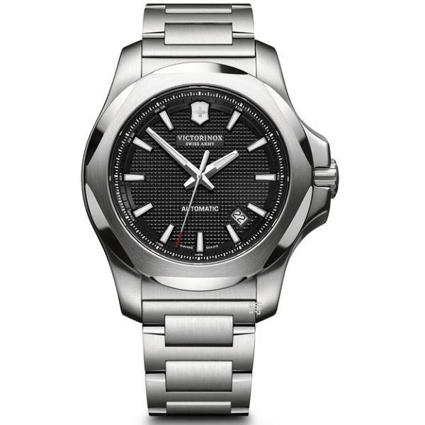 VICTORINOX 瑞士維氏 SWISS ARMY 機械錶 I.N.O.X. 手錶 (VISA-241837) 黑/43mm