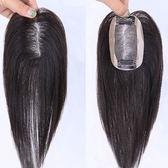 假髮片(真髮絲)-輕薄透氣無痕補髮女假髮2色73uf11[時尚巴黎]
