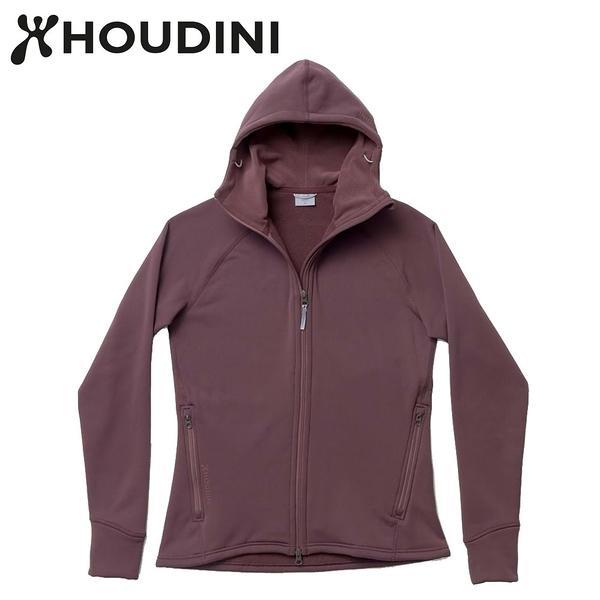 瑞典【Houdini】W`s Power Houdini 女款Power Stretch® Pro™保暖外套 紅色幻想