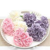 仿真花康乃馨假花束仿真花束 客廳塑料花絹花裝飾花假花小花束