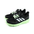 adidas FortaFaito EL K 運動鞋 跑鞋 魔鬼氈 黑色 綠鞋底 童鞋 EE7308 no728