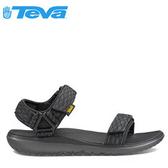 丹大戶外【TEVA】美國男款 TERRA-FLOAT UNIVERSAL 多功能水陸平底運動涼鞋/1009812 BLK 黑
