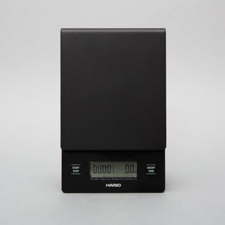 日本 HARIO 專業電子秤 VST-2000B 可同時計時 V60 磅秤 手沖專用 最大2000g 公司貨保固一年