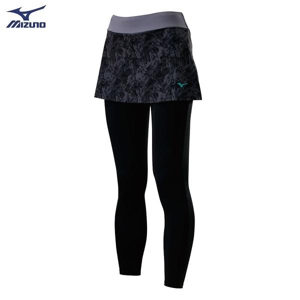 (B3) MIZUNO 美津濃 女 瑜珈褲 運動褲 褲裙 K2TB020609 韻律褲 [陽光樂活]