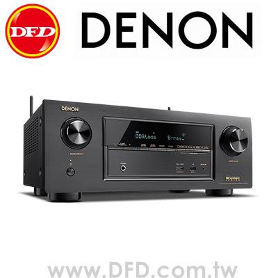 天龍 DENON AVR-X2300W 7.2聲道 全4K Ultra HD 網路劇院擴大機 WiFi、藍牙 公貨 送4K HDMI線