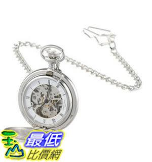 [美國直購] 手錶 Charles-Hubert, Paris Satin Finish Mechanical Pocket Watch