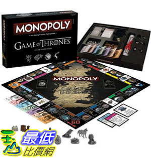 [105美國直購] Monopoly: Game of Thrones Collector s Edition Board Game 大富翁 權力的遊戲