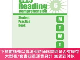 二手書博民逛書店罕見原版 Evan-Moor Daily Reading Comprehension Grade 6 SE