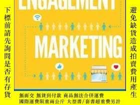 二手書博民逛書店Engagement罕見Marketing: How Small Business Wins in a Socia