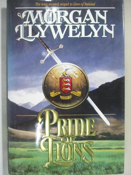 【書寶二手書T7/原文小說_JGM】Pride of Lions_Morgan Llywelyn