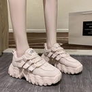 休閒鞋/平底鞋 厚底老爹鞋女春秋新款百搭潮ins韓版學生運動鞋舒適休閒鞋