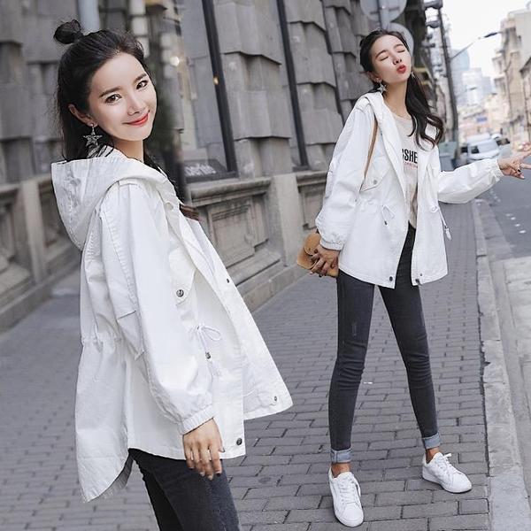 外套女春秋韓版寬鬆學生羊羔毛上衣冬百搭港風中長風衣 - 風尚3C