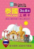 【意遊全球wifi】泰國上網卡 SIM卡 8天3GB吃到飽 (內含100泰銖通話/可充值) - 特價