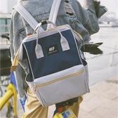 日系韓製潮大容量後背包女中學生帆布後背包原宿風旅行後背包 【快速出貨】