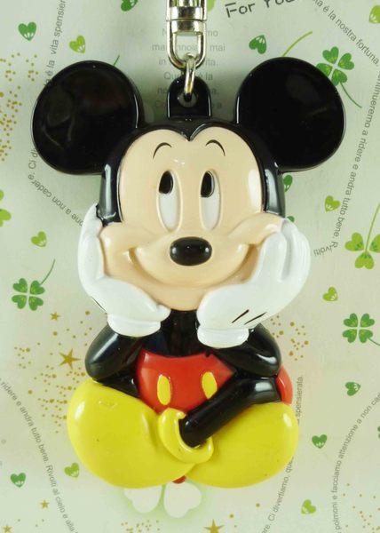 【震撼精品百貨】Micky Mouse_米奇/米妮 ~鑰匙圈-米奇托腮
