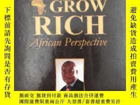 二手書博民逛書店Think罕見and Grow Rich African Per