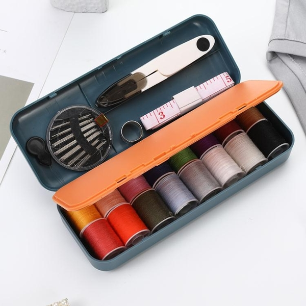 針線盒家用高檔大容量多層套裝日本多色線便攜縫紉手縫針縫補工具 夏季新品