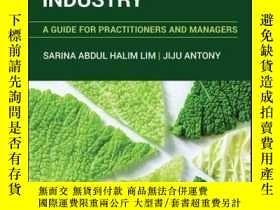 二手書博民逛書店Statistical罕見Process Control for the Food Industry: A Gui