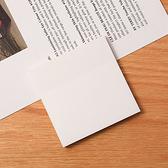 便利貼 N次貼 便條紙 可撕便簽 正方 留言板空白紙 便籤紙 重點標籤 透明便利貼【K078】生活家精品