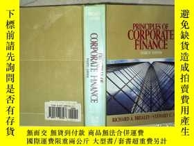 二手書博民逛書店PRINCIPLES罕見OF CORPORATE FINANCE FOURTH EDITION 公司財務原理第四版