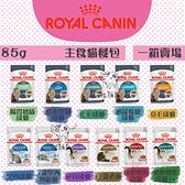 ROYAL CANIN皇家〔主食貓餐包,11種口味,85g,奧地利製〕(一箱24入)