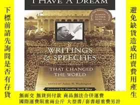 二手書博民逛書店我有一個夢想罕見英文原版 I Have a Dream: Wri
