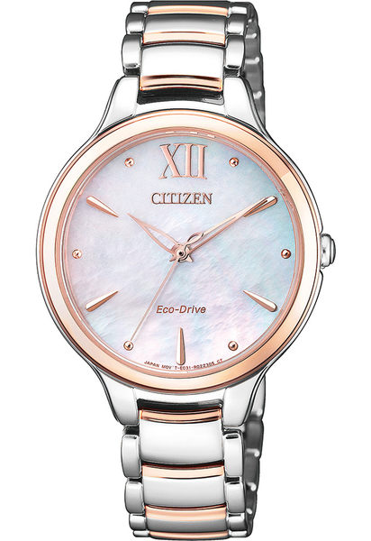 【刷卡分期零利率】CITIZEN光動能L系列女錶EM0556-87D藍寶石玻璃 32.3mm 台灣星辰公司保固兩年