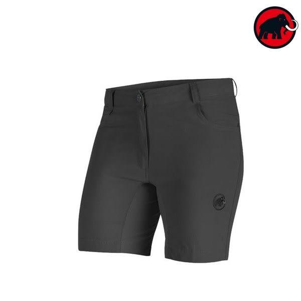 [Mammut] Runbold Light Shorts 女戶外休閒短褲 - 石墨灰 (09921-0121)