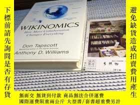 二手書博民逛書店英文原版罕見Wikinomics : how mass coll